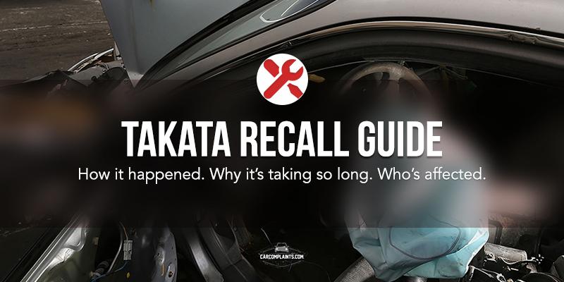 Takata Recall Guide