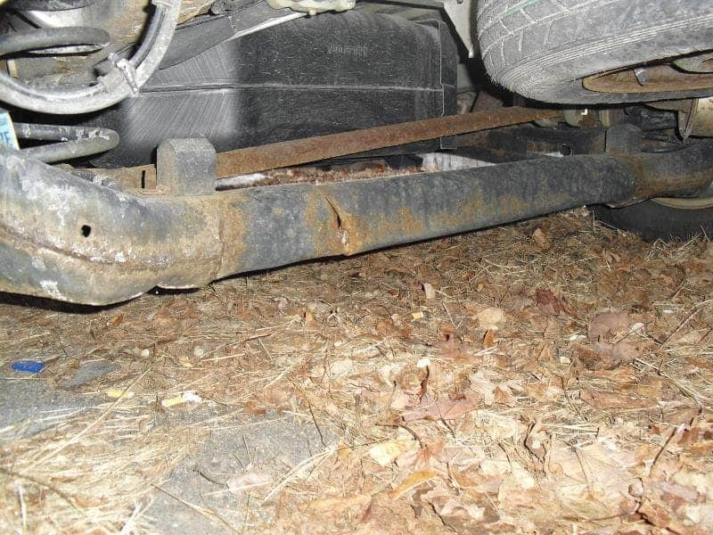 Ford Windstar Fractured Rear Axle